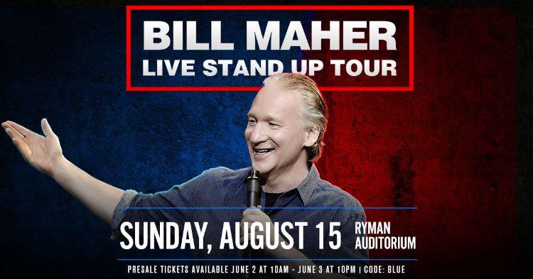 Bill Maher Nashville
